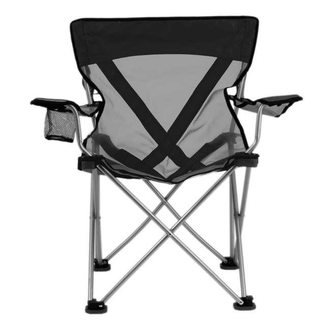 579VBK TravelChair 579V Teddy Folding Portable Camping Hunting Nylon Mesh Chair, Black