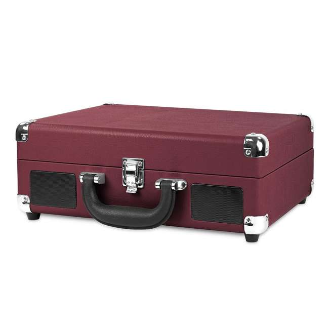 VSC-550BT-ML Victrola 3-Speed Bluetooth Suitcase Record Player, Marsala 1