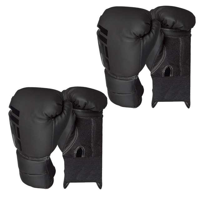 14434P-010716-BXGGLV16 Century Martial Arts UFC Men's 16 Oz Boxing Gloves, Black (2 Pack)