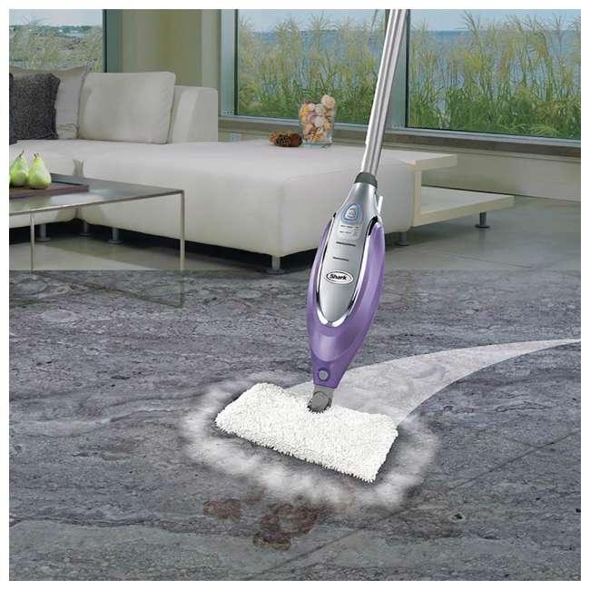 SE450_EGB-RB Shark SE450 Electronic Steam Pocket Dust & Mop, Lavender (Certified Refurbished) 3