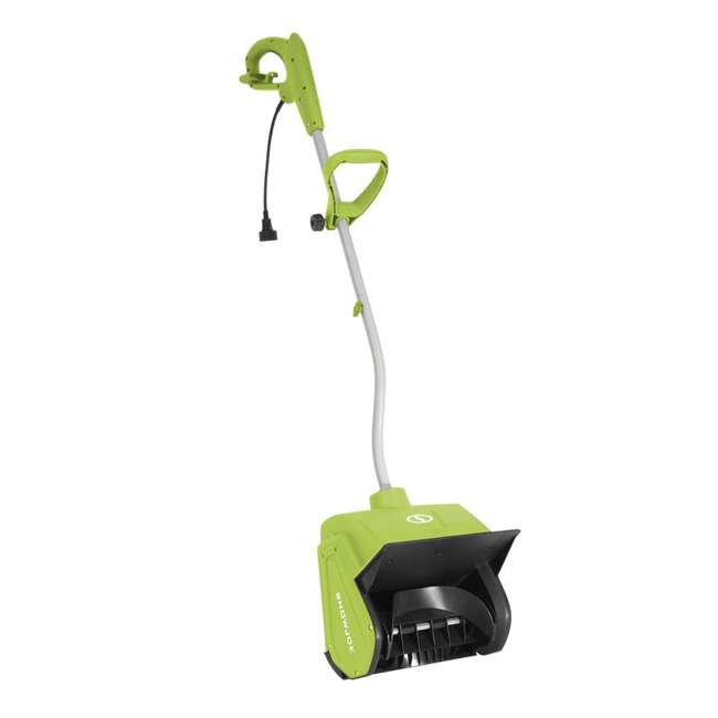 SNJ-323E-PRO-SJG-RB Snow Joe 13 Inch 10 Amp Electric Snow Shovel, Green (Certified Refurbished)