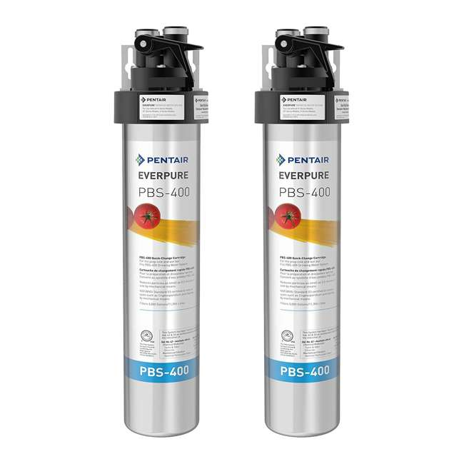 EV927085 Drinking Water Filter System for Prep Sink and Wet Bar (2 Pack)
