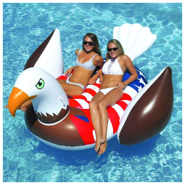 90700 Giant Patriot Eagle Swimming Pool Float 1