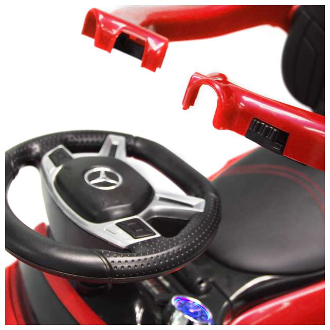 4 in 1 Mercedes Push Car Red Best Ride On Cars Baby 4 in 1 Mercedes Toy Push Vehicle, Stroller, & Rocker, Red 8