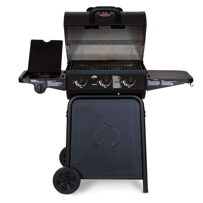 CHAR3001 Char Griller 3-Burner Grillin' Pro Propane Gas Grill 3