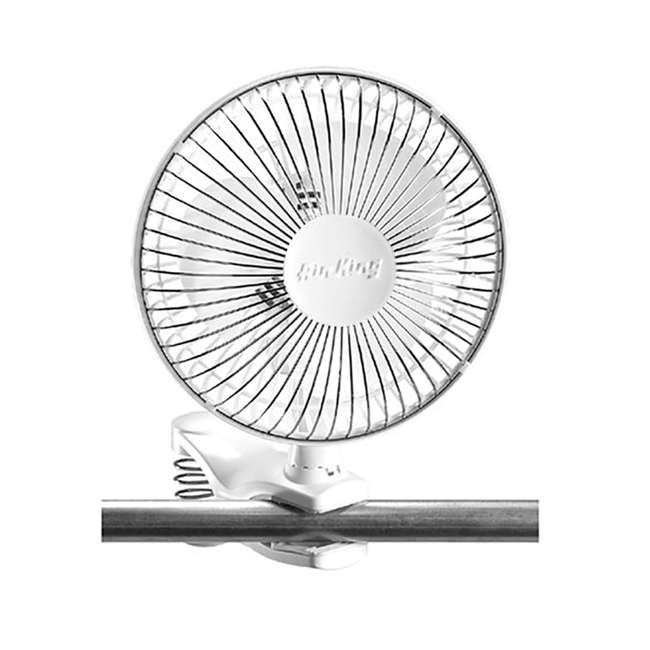 AK-9145-U-A Air King 6 Inch Commercial 120V Personal Clip On Fan Air | 9145 (Open Box) 2
