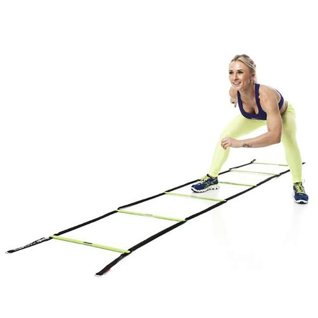 EST-SL Escape Fitness 10' Long Speed Ladder for Total Body Fitness Training w/Carry Bag 2