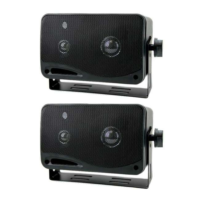 2022SX Pyramid 2022SX 3-Way 200W Mini Box Speakers (Pair)