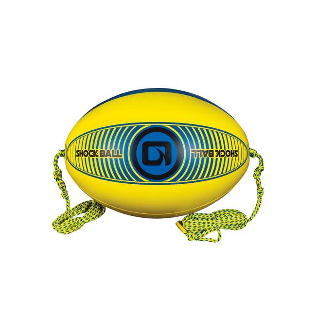 2191628-MW LNK1 - O'Brien Shock Ball for Towable Tubes, Yellow/Blue