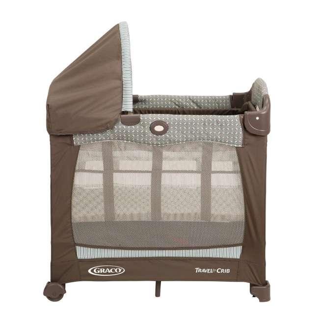 1780721 Graco Travel Lite Portable Baby Crib - Notting Hill 1