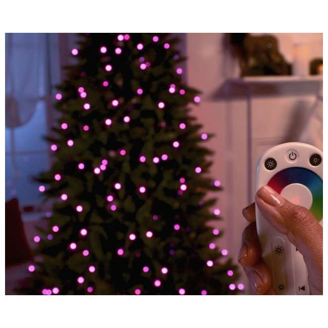 TG70CH119P00 Home Heritage 7' Color Blast Multiple Light Function Micro Dot LED Christmas Tree 1