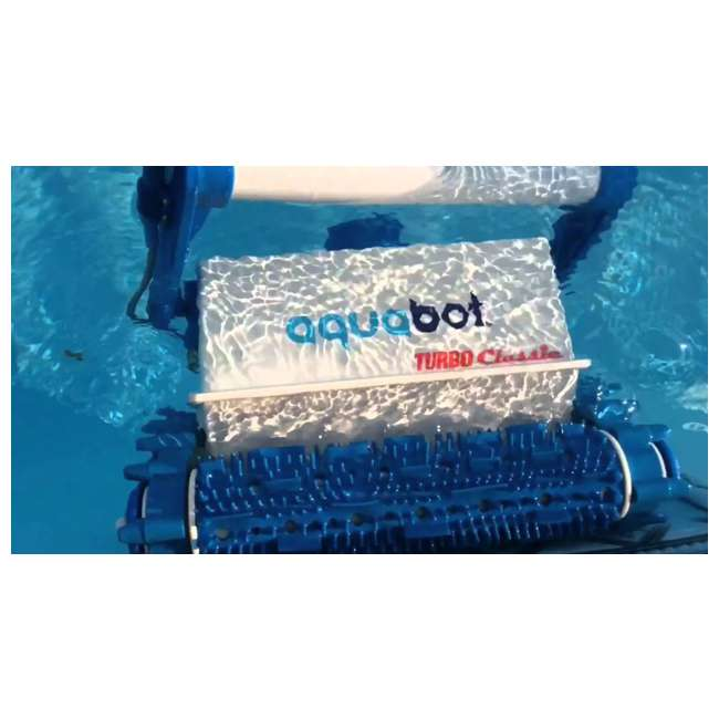 ABT-TURBO-OB Aquabot Turbo Classic In-Ground Robotic Swimming Pool Cleaner (Open Box) 1