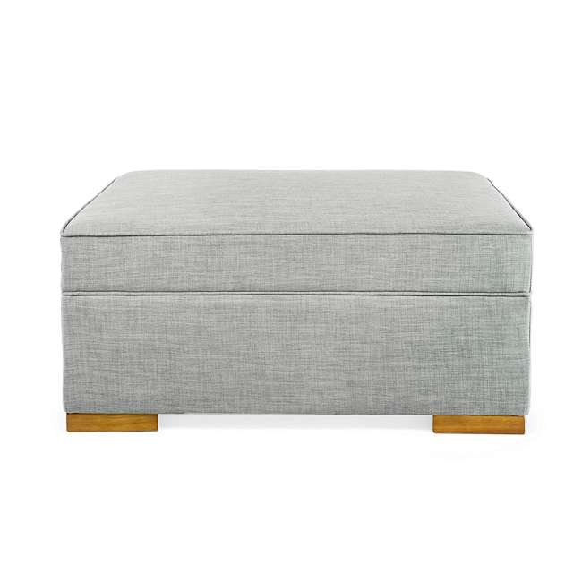 PC222-U-B SpaceMaster iBed Ottoman Fold Out Hideaway Guest Bed, Gray Fabric (Used) 4