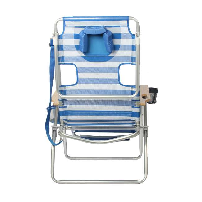 A3N1-2000S Ostrich 3-N-1 Altitude Outdoor Lounge Reclining Beach 16-Inch Height Chair, Blue 3