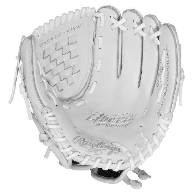 RLA125KR-3/0 Rawlings Liberty Advanced 12.5-Inch Outfield Pitcher Adult Softball Glove 1