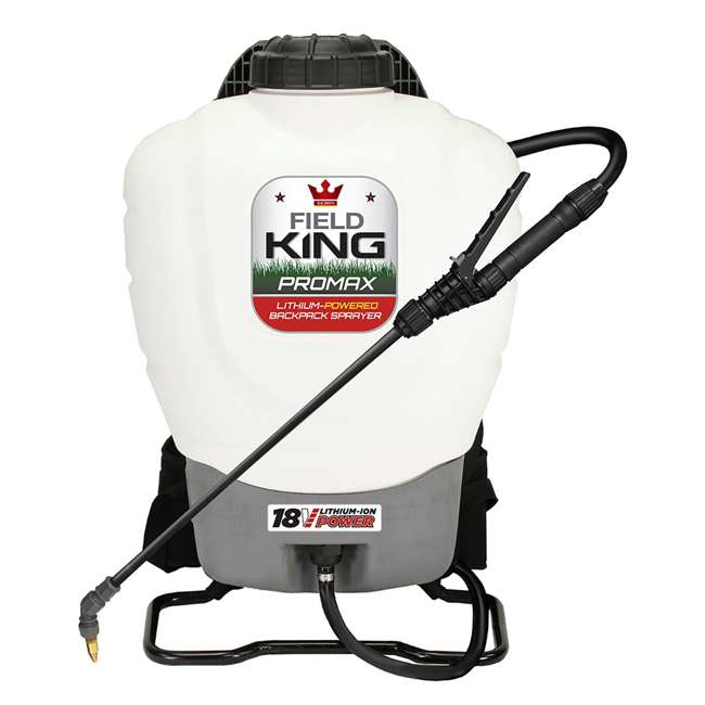 3 x FDK-190515 Field King 190515 Lithium Ion Powered Backpack Sprayer (3 Pack) 1
