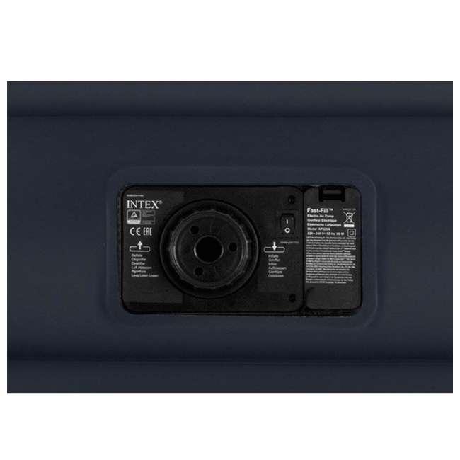 3 x 64123EP-U-A Intex Pillow Rest Raised Air Mattress w/ Built In Pump, Queen (Open Box)(3 Pack) 1