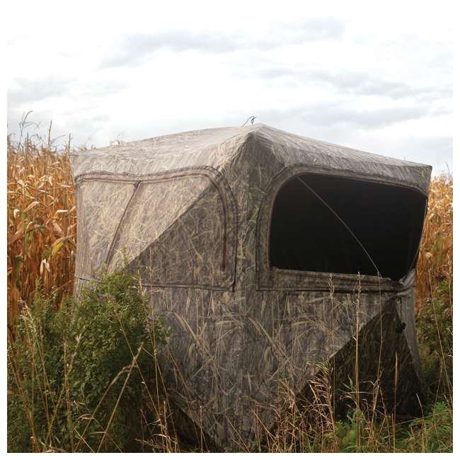BARR-GR351BB Barronett Grounder 350 Bloodtrail Blades Lightweight Pop Up Ground Hunting Blind 3