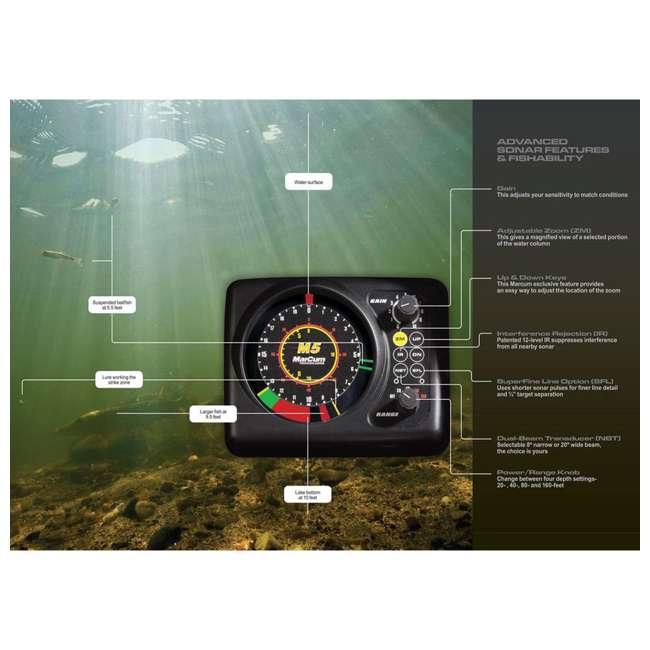 MARCUM-M5-OB Marcum Rapala M5 Flasher Sonar System & Fish Finder (Open Box) 5