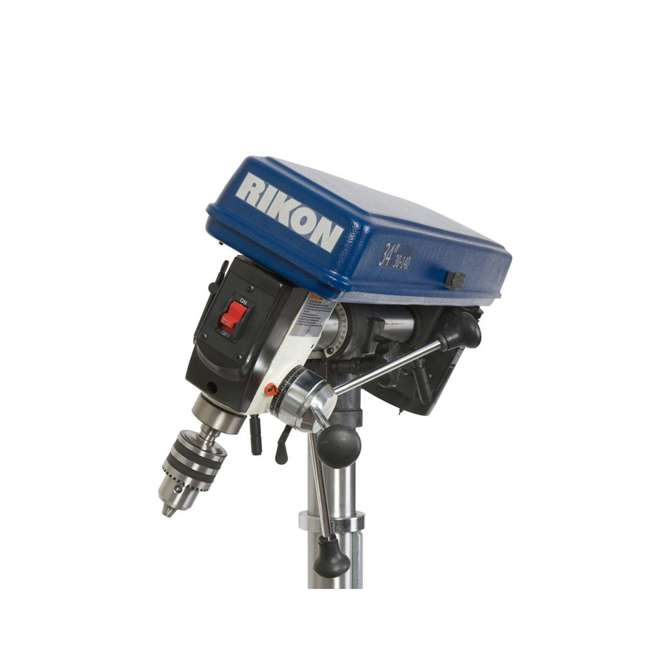 30-140 RIKON Power Tools 30-140 Work Bench Top Swiveling Head Radial Drill Press, Blue 2