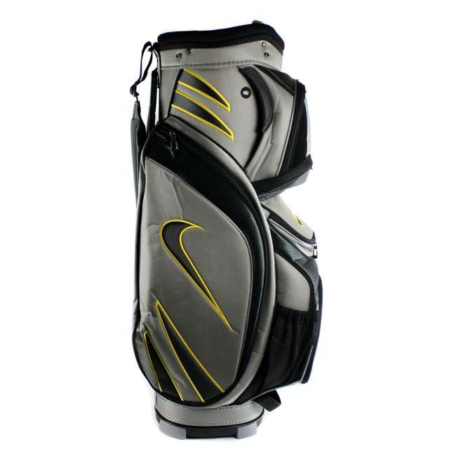 BG0218-017  Nike M9 Golf Bag Adult Cart Style Bag – 14 Way Top Divider Grey & Yellow Color 3