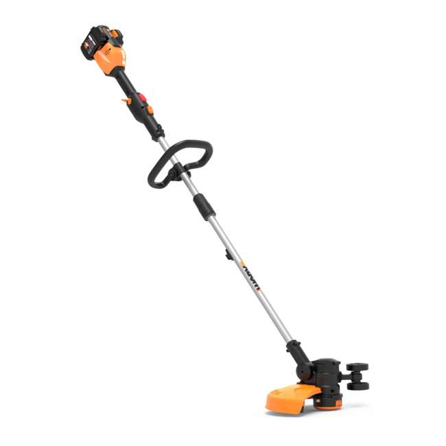 "WG184 WORX WG184 13"" 40V Lithium-Ion Cordless String Trimmer with Batteries & Charger"