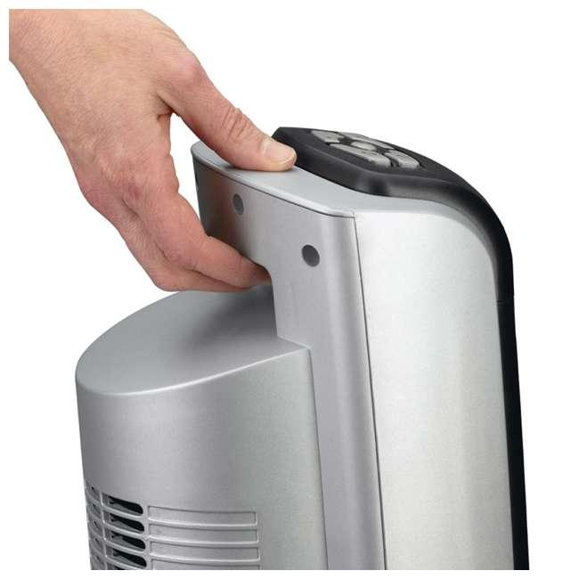 LKO-5521-TN Lasko 5521 Portable Electric 1500W Room Oscillating Ceramic Tower Space Heater 2