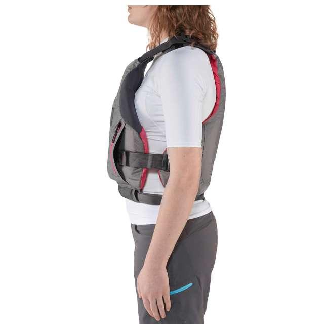 NRS_40036_02_102 NRS Adult Women's Siren PFD Life Jacket Vest, Charcoal, L/XL 2