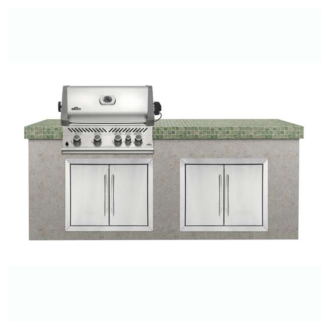 BIP500RBNSS-2-U-C Napoleon 31'' Prestige 500 Built In Stainless Steel Gas Grill Head (For Parts) 1