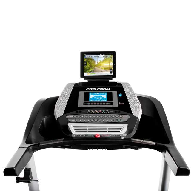 PFTL10916 + WAWkB2017 ProForm 905 CST iFit Folding Treadmill + Weider PowerBell 20 Pound Kettlebell 3