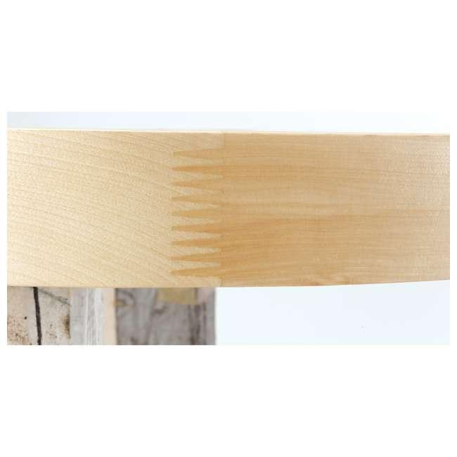 4WLS472-28-52 Rev-A-Shelf 4WLS472-28-52 28 Inch Wood 2 Shelf Kidney Shaped Lazy Susan, Natural 1