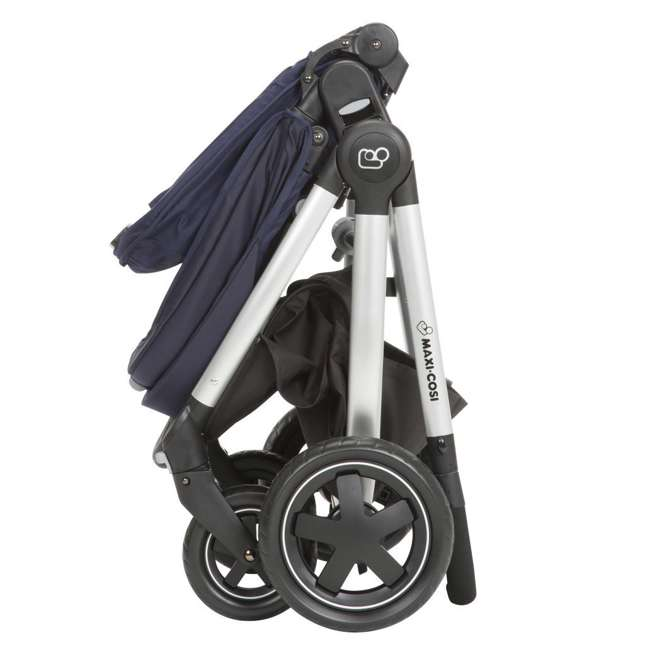 TR362CTD Maxi-Cosi Adorra Stroller and Car Seat Travel System, Brilliant Navy 8