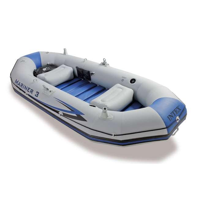 68373EP Intex Mariner 3-Person Inflatable Boat Set 1