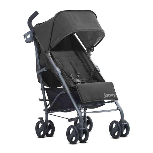 JVY-8127 Joovy Groove Ultralight Compact Canopy Umbrella Stroller, Black 3
