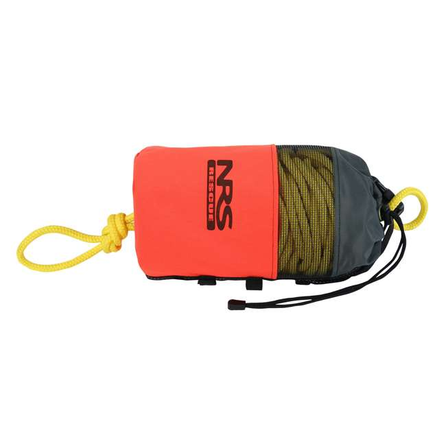 AHTR-30 NRS 75-Foot 1900-Pound Standard Boating Water Rescue Throw Rope Bag, Orange