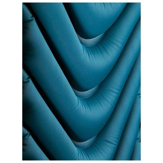 06AVTL01C Klymit Armored V 2 Rugged Superfabric Lightweight Inflatable Sleeping Pad, Blue 2