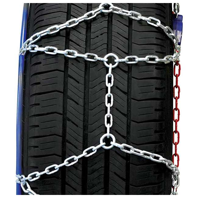 0231805-U-A Auto-Trac 2300 Series Tightening and Centering Snow Tire Chains (Open Box) 4