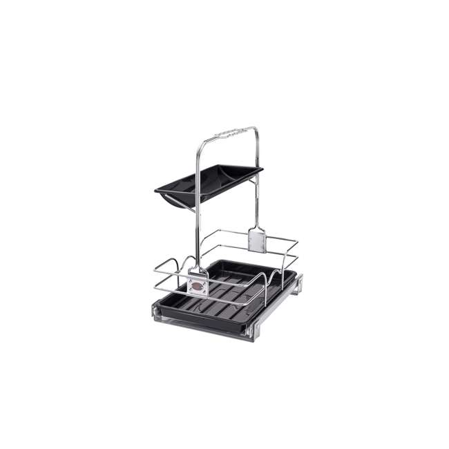 544-10C-1 Rev-A-Shelf 544-10C-1 Undersink Base Cabinet Slide Out Cleaning Caddy. Silver