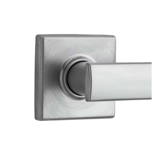 99740-003 Kwikset Vedani Hall Closet Passage Locking Door Handle Lever, Chrome 4