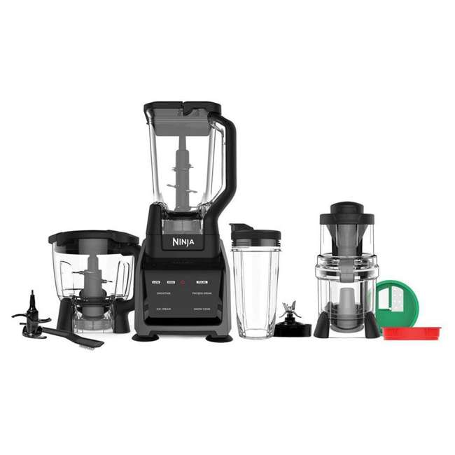 CT682SP_EGB-BK-RB Ninja 4-Attachments Kitchen System (Certified Refurbished)