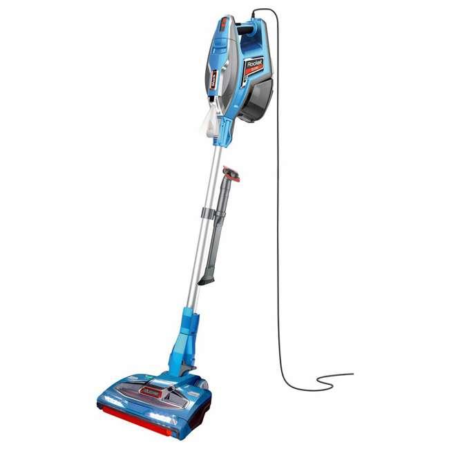 HV381-RB Shark Rocket DuoClean Light Corded Stick Vacuum, Blue (Certified Refurbished)