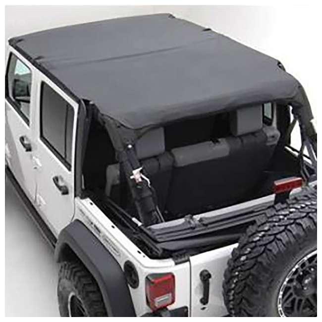 94635-SMITTYBILT Smittybilt Extended Brief Top for Jeep Wrangler JK 2