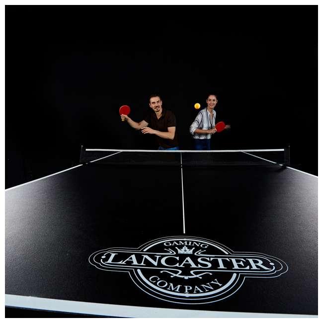 TTT212_018P Lancaster 2- Piece Indoor 2 Table Tennis Game Set w/o Paddles & Balls 2