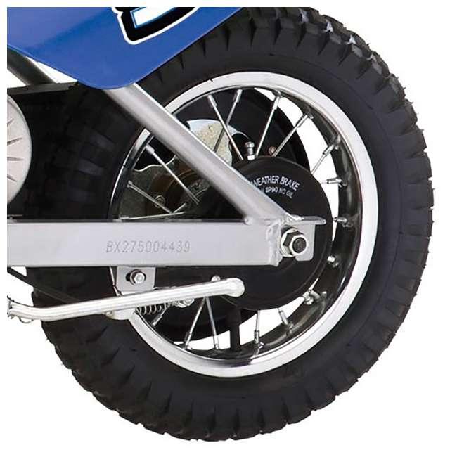 15128040 Razor MX350 Dirt Rocket Electric Motorcycle Dirt Bike, Blue 4