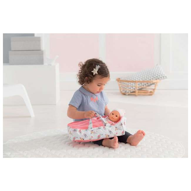 FRN89 Corolle Mon Premier Poupon Carry Travel Bed Accessory for 12 Inch Baby Dolls 4