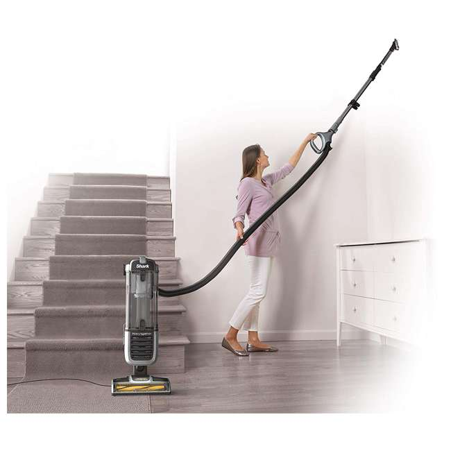 ZU60_EGB-RB Shark ZU60 Navigator Zero M Upright Bagless Vacuum, Gray (Certified Refurbished) 2
