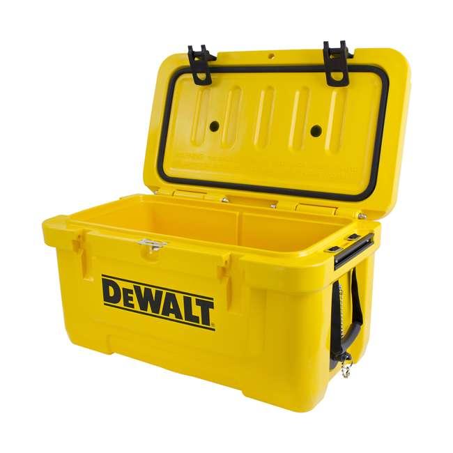 DXC45QT DeWalt 45 Quart Insulated Lunch Box Portable Drink Cooler, Yellow 4