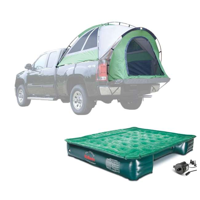13044 + PPI PV202C Napier Backroadz Truck Bed Tent & AirBedz Air Mattress, Full
