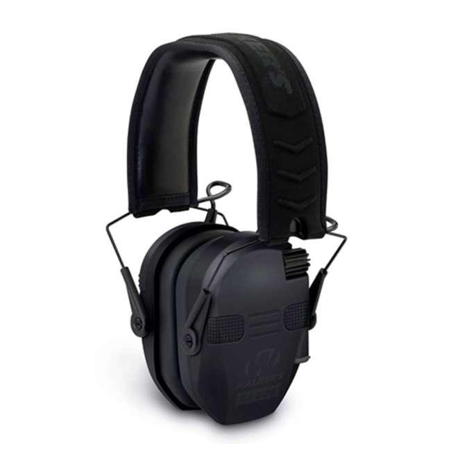 GWP-RSEQM-BT Walker's Razor Slim Bluetooth Quad Ear Muffs, Black