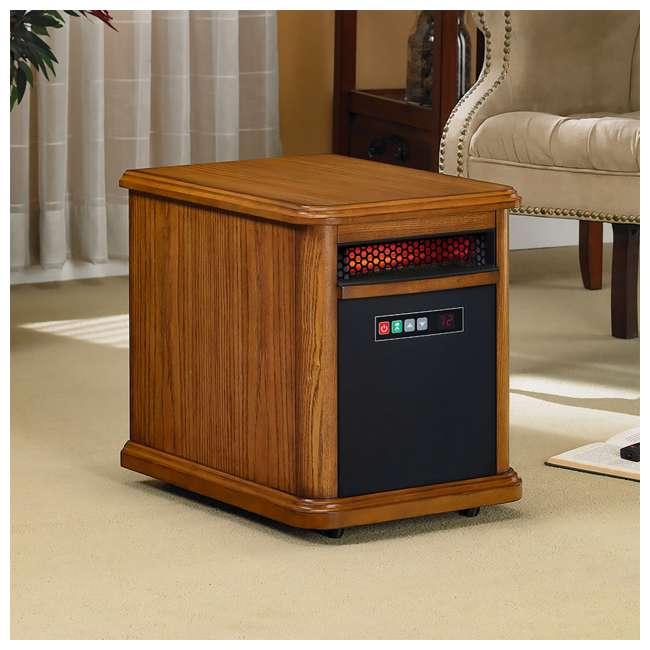 9HM9126-O142 Duraflame 1500 Watt 5200 BTU Portable Electric Infrared Quartz Room Space Heater 4